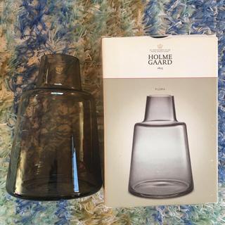 ホルムガード フラワーベース フローラ24cm 旧スモーク(花瓶)