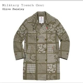 シュプリーム(Supreme)のSupremeMilitary Trench Coat(トレンチコート)