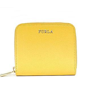 フルラ(Furla)のフルラ 2つ折り財布 - イエロー レザー(財布)
