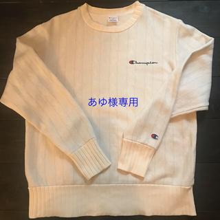 チャンピオン(Champion)のChanpion セーター風トレーナー MENS size M(スウェット)