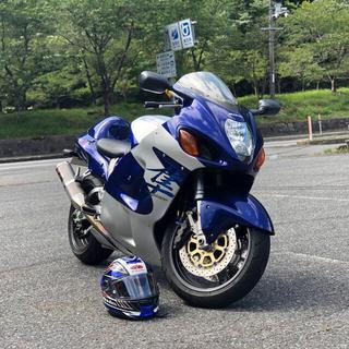 スズキ - 低走行車 隼初期モデル逆輸入車ハヤブサヨシムラ集合マフラー