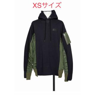 サカイ(sacai)のXSサイズ Nike x sacai Hoodie NAVY フーディー  (パーカー)