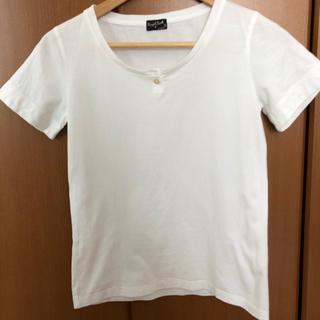 マーガレットハウエル(MARGARET HOWELL)のマーガレットハウエル  白Tシャツ(Tシャツ(半袖/袖なし))