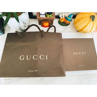 グッチ(Gucci)のGUCCI 箱 ショップ袋 ショッパー ギフト ラッピング用(ラッピング/包装)