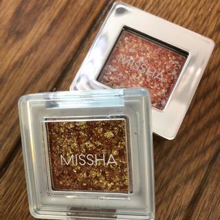 ミシャ(MISSHA)のMISSHA グリッタープリズムシャドウ 2色(アイシャドウ)