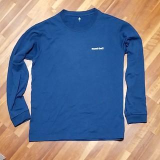 モンベル(mont bell)のmont-bell ロンT メンズM ネイビー(Tシャツ/カットソー(七分/長袖))