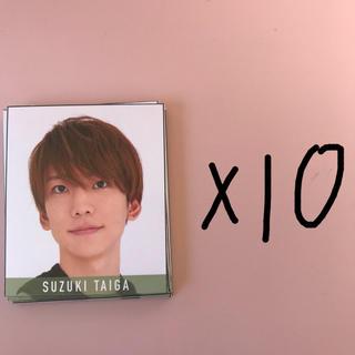 ジャニーズジュニア(ジャニーズJr.)の鈴木大河 2020 デタカ 10枚(男性アイドル)