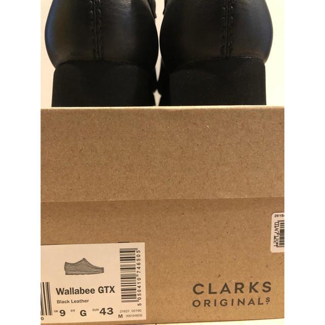 Clarks(クラークス)のClarks Wallabee GTX GORE-TEX ワラビークラークス メンズの靴/シューズ(スニーカー)の商品写真