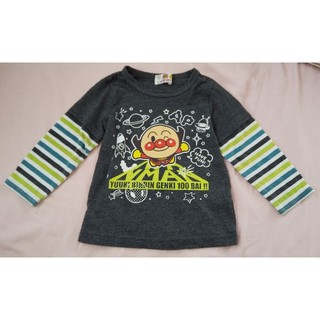 バンダイ(BANDAI)のアンパンマン 重ね着風長袖カットソー(Tシャツ/カットソー)