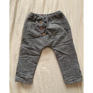 ザラキッズ(ZARA KIDS)の【美品】ZARA Baby(KIDS) 異素材パンツ 88センチ(90サイズ)(パンツ/スパッツ)
