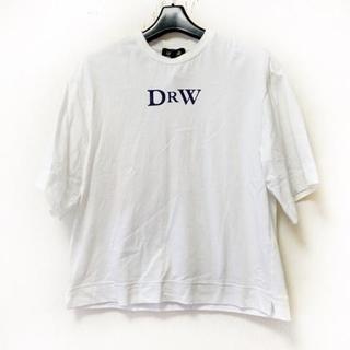 ドゥロワー(Drawer)のドゥロワー 半袖Tシャツ サイズ2 M - 白(Tシャツ(半袖/袖なし))