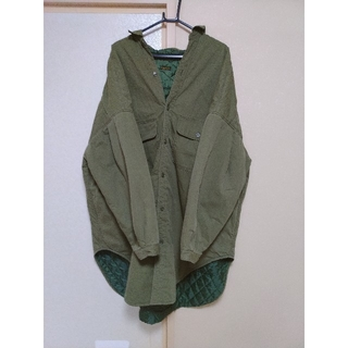 KAPITAL - キャピタル リップストップ スラッピーシャツコート サイズ3