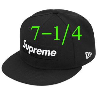 Supreme - Supreme World Famous Box Logo New Era 黒