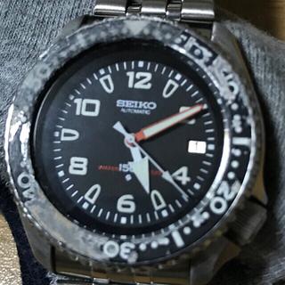 セイコー(SEIKO)の日本製 セイコーダイバー MOD カスタム SEIKO 希少 OH済 ケース研磨(腕時計(アナログ))