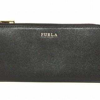 フルラ(Furla)のフルラ 長財布美品  - 黒 L字ファスナー(財布)