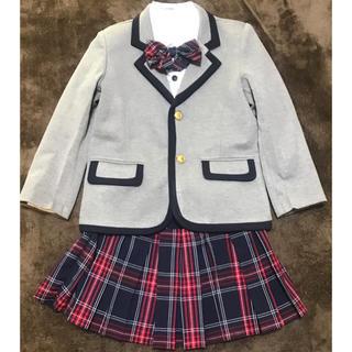 入学式 女の子 スーツ 120センチ(ドレス/フォーマル)