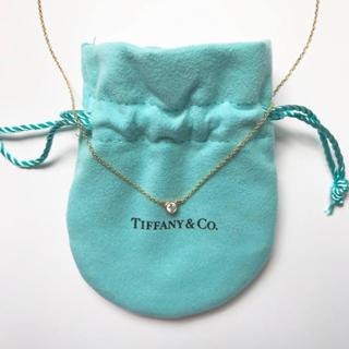 Tiffany & Co. - ティファニー バイザヤード ネックレス YG