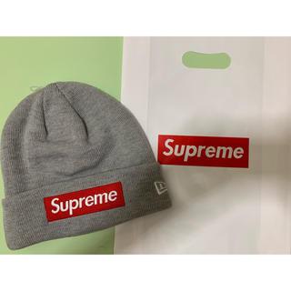 シュプリーム(Supreme)のSupreme Box Logo beanie ビーニーニット帽(ニット帽/ビーニー)