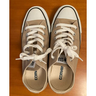 CONVERSE - 【CONVERSE】CANVAS ALL STAR COLOR OX  ベージュ