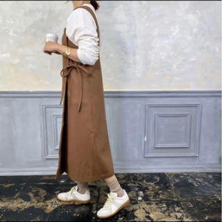 トゥデイフル(TODAYFUL)のbonny サイドリボンラップジャンパースカート(ひざ丈ワンピース)
