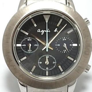アニエスベー(agnes b.)のアニエスベー 腕時計 - 7T11-0AN0 メンズ(その他)