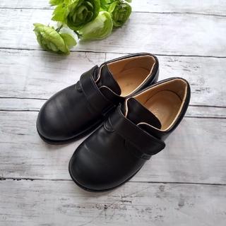 トータス フォーマルシューズ 本革靴 黒 17cm 牛革 七五三 男女兼用(フォーマルシューズ)