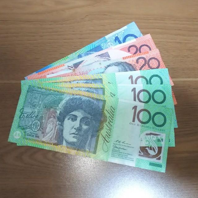 350オーストラリアドル紙幣(100×3・20×2・10×1) エンタメ/ホビーの美術品/アンティーク(貨幣)の商品写真