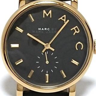 マークバイマークジェイコブス(MARC BY MARC JACOBS)のマークジェイコブス 腕時計 - MBM1269 黒(腕時計)