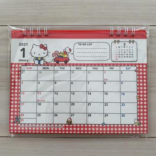 ハローキティ - ハローキティ 2021年 卓上カレンダー サンリオ キティ カレンダー 手帳