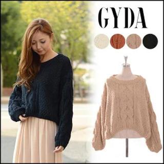 ジェイダ(GYDA)のGYDA ジェイダ ニット フリーサイズ (ニット/セーター)
