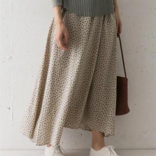 ドアーズ(DOORS / URBAN RESEARCH)のDOORS 小花柄スカート GREGE(ロングスカート)