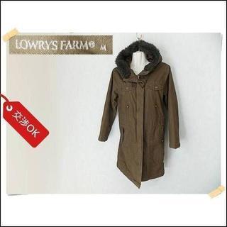 ローリーズファーム(LOWRYS FARM)の【LOWRYS FARM】 美品 ローリーズファーム コート サイズM(モッズコート)
