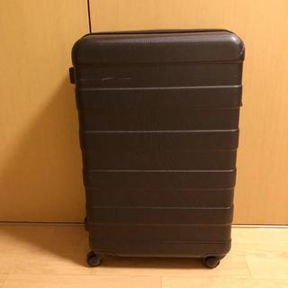 ムジルシリョウヒン(MUJI (無印良品))のミッキー3226様専用 無印良品 56L鍵つきスーツケース 黒(トラベルバッグ/スーツケース)