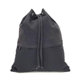 agnes b. - アニエスベー リュックサック 黒 巾着型