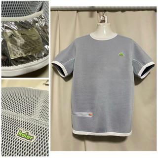 カラー(kolor)の定価31900円 adidas by kolor ビッグサイズメッシュTシャツM(Tシャツ/カットソー(半袖/袖なし))