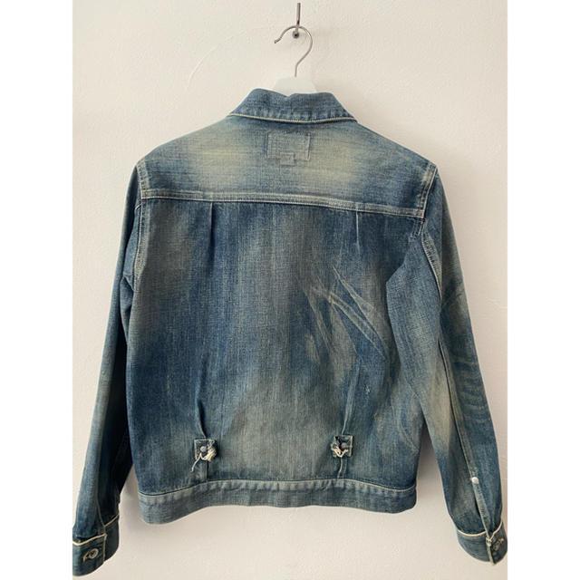 NEIGHBORHOOD(ネイバーフッド)のNEIGHBORHOOD /SAVAGE STOCKMAN C-JKT メンズのジャケット/アウター(Gジャン/デニムジャケット)の商品写真