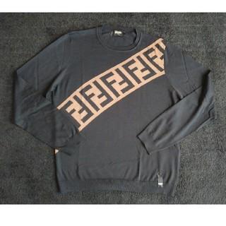 フェンディ(FENDI)の国内直営店購入 未使用 FENDI セーター ニット フェンディ ズッカ(ニット/セーター)