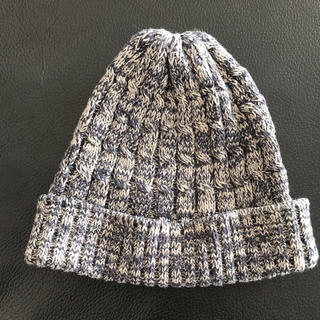 アングリッド(Ungrid)のアングリッド ニット帽  くすみブルー(ニット帽/ビーニー)