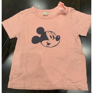 petit main - petit main ミッキーTシャツ