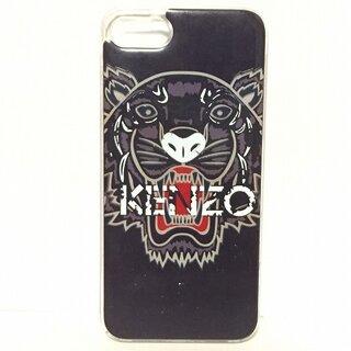 ケンゾー(KENZO)のケンゾー ipodケース 黒×クリア×マルチ(その他)