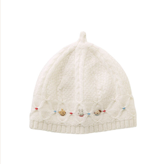 familiar - 新品*ファミリア ニット帽 帽子 49-51cm 完売