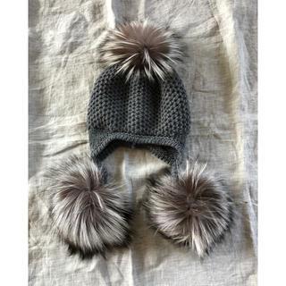 DEUXIEME CLASSE - 新品 ドゥーズィエムクラス購入 inverniインヴェル二 フォックスニット帽