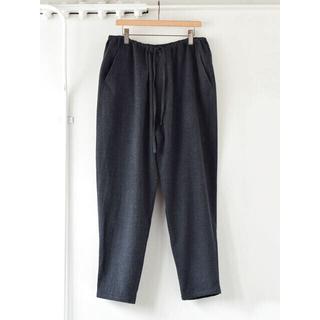 コモリ(COMOLI)の20aw サイズ1 COMOLI 強縮ウール パンツ ハウンド トゥース(スラックス)