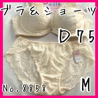 ブラ&ショーツセットD75       No.8858(ブラ&ショーツセット)