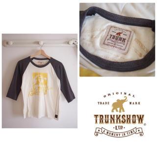 トランクショー(TRUNKSHOW)のTRUNK SHOW ラグランTEE(Tシャツ/カットソー(七分/長袖))