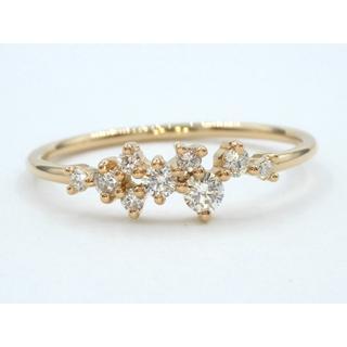 K18PG ピンクゴールド  シンプル ダイヤモンド リング  指輪(リング(指輪))