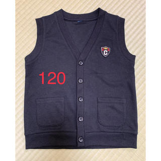 西松屋 - ベスト 120 黒