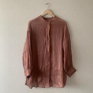 ヘザー(heather)のサテンシャツ (シャツ/ブラウス(長袖/七分))