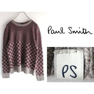 ポールスミス(Paul Smith)のPS Paul Smith カシミヤ混クルーネックニット L(ニット/セーター)