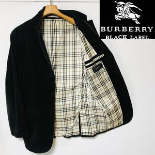 BURBERRY BLACK LABEL - 希少!バーバリーブラックレーベル ノバチェック ストレッチコーデュロイジャケット